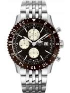 Breitling Chronoliner Bronze Dial Steel Men's Watch Y2431033/Q621-453A