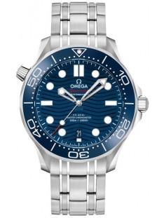 Omega Seamaster Diver 300M Blue Dial Men's Watch 210.30.42.20.03.001