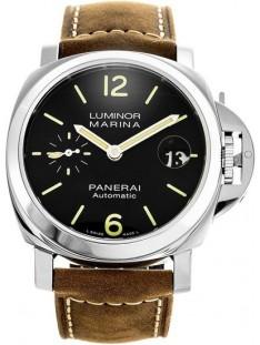 Panerai Luminor Marina Black Dial Men's Watch PAM01048