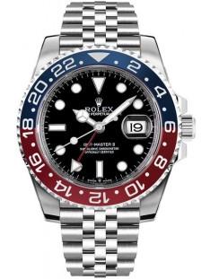 Rolex GMT-Master II Pepsi Luxury Men's Watch 126710BLRO