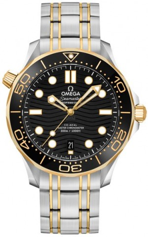Omega Seamaster 42mm Men's Luxury Watch 210.20.42.20.01.002