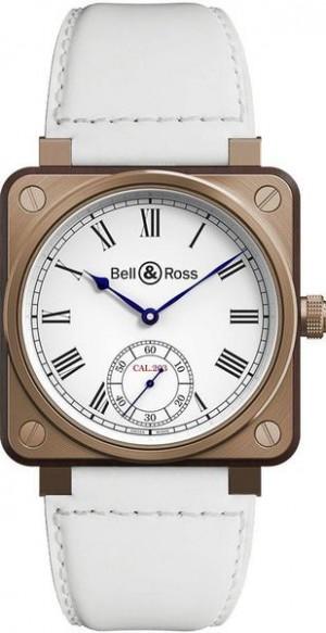 Bell & Ross Aviation Instruments White Dial Men's Watch BR01-CM-203-B-V-032