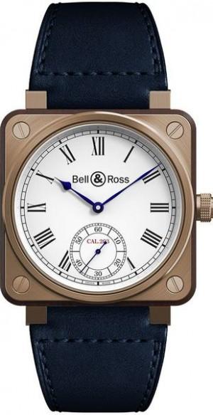 Bell & Ross Aviation Instruments Bronze & Wood Watch BR01-CM-203-B-V-064