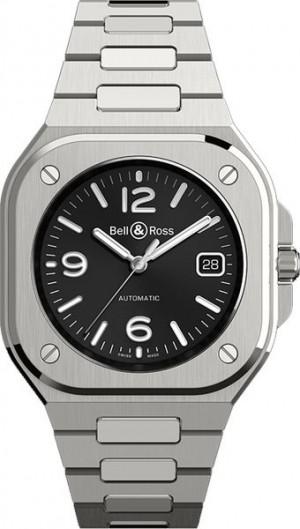 Bell & Ross BR 05 Black Dial Steel Men's Watch BR05A-BL-ST/SST