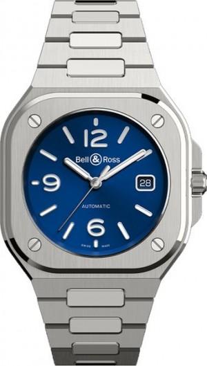 Bell & Ross BR 05 Blue Dial Steel Men's Watch BR05A-BLU-ST/SST