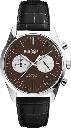 Bell & Ross Vintage 41mm Men's Watch BRG126-BRN-ST/SCR2-B-A-045