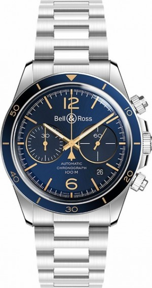 Bell & Ross Vintage Men's Authentic Watch BRV294-BU-G-ST/SST