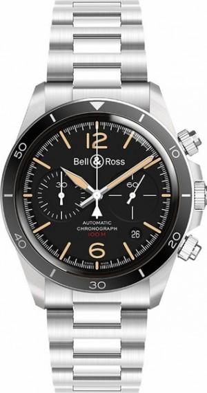 Bell & Ross Vintage New Authentic Men's Watch BRV294-HER-ST/SST