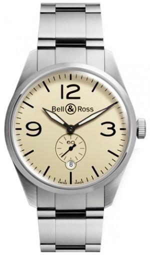 Bell & Ross Vintage Original Stainless Steel Men's Watch BRV123-BEI-ST/SST