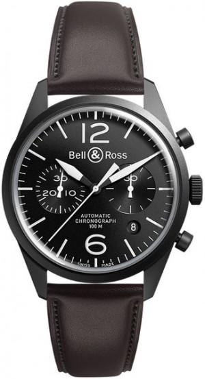 Bell & Ross Vintage Original Men's Watch BRV126-BL-CA/SCA