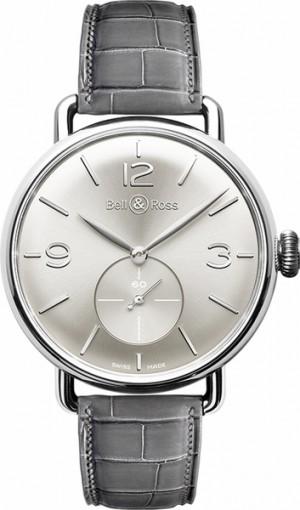 Bell & Ross Vintage New Swiss Men's Watch WW1 BRWW1-ME-AG-SI/SCR