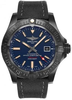 Breitling Avenger Blackbird Blue Dial Limited Edition Men's Watch V173104A/CA23-100W