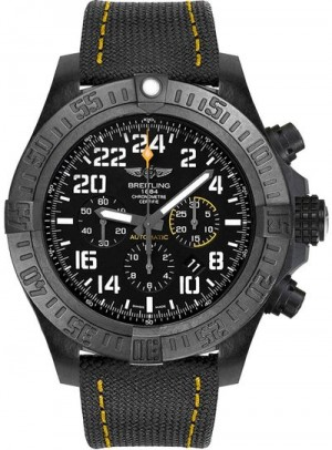 Breitling Avenger Hurricane Black Dial Men's Watch XB1210E4/BE89-113W
