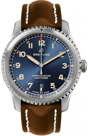 Breitling Aviator 8 Blue Dial Men's Watch A17315101C1X1