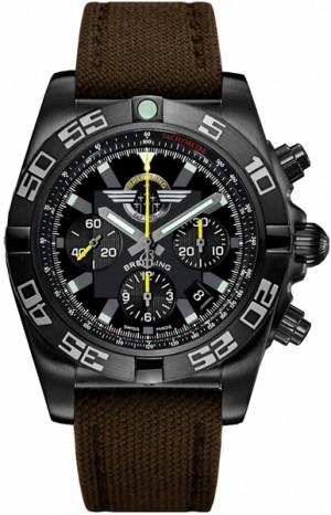 Breitling Chronomat 44 Blacksteel Jet Team Men's Watch MB01109L/BD48-108W