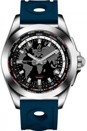 Breitling Galactic Unitime Date Men's Watch WB3510U4/BD94-228S