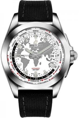 Breitling Galactic Unitime Men's Watch WB3510U4/A777-103W