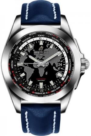 Breitling Galactic Unitime Men's Watch WB3510U4/BD94-105X