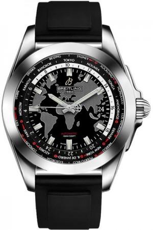 Breitling Galactic Unitime Men's Watch WB3510U4/BD94-131S