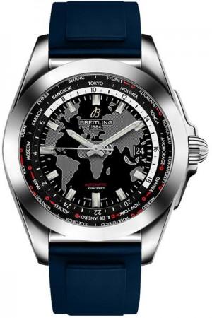 Breitling Galactic Unitime Men's Watch WB3510U4/BD94-145S