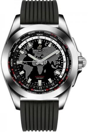 Breitling Galactic Unitime Men's Watch WB3510U4/BD94-274S