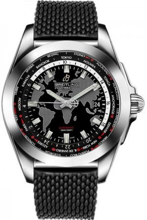 Breitling Galactic Unitime Men's Watch WB3510U4/BD94-278S