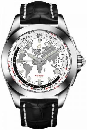 Breitling Galactic Unitime Calibre B35 Men's Watch WB3510U0/A777-743P