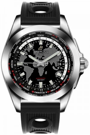 Breitling Galactic Unitime Men's Watch WB3510U4/BD94-200S