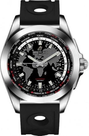 Breitling Galactic Unitime World Time Men's Watch WB3510U4/BD94-227S