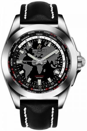 Breitling Galactic Unitime Men's Watch WB3510U4/BD94-435X