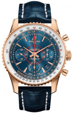 Breitling Montbrillant 01 Solid 18k Gold Limited Edition Men's Watch RB013012/C896-718P