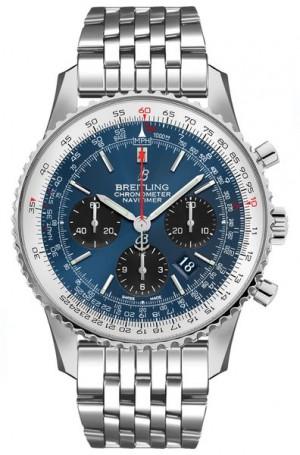 Breitling Navitimer 1 B01 Chronograph 43 Luxury Men's Watch AB0121211C1A1
