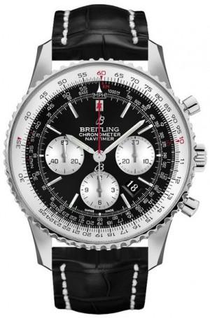 Breitling Navitimer 1 Chronograph Black Dial Men's Watch AB0127211B1P2