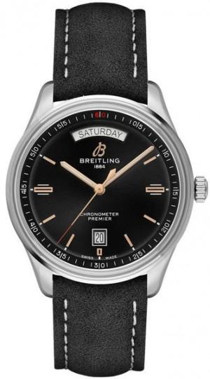 Breitling Premier Day & Date 40 Black Dial Men's Watch A45340241B1X2