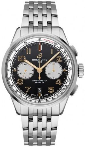 Breitling Premier B01 42 Men's Steel Watch AB0118A21B1A1
