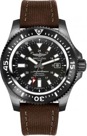 Breitling Superocean 44 Black Steel Men's Watch M1739313/BE92-108W