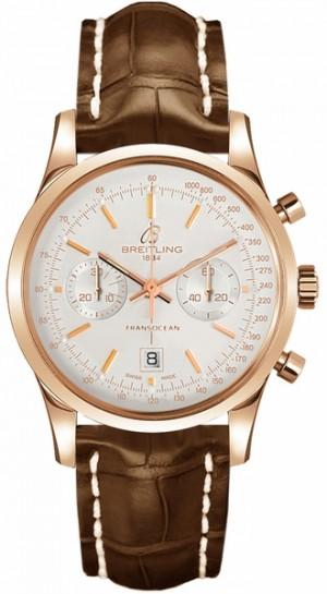 Breitling Transocean Chronograph 38 Luxury Men's Watch R4131012/G758-722P