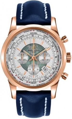 Breitling Transocean Chronograph Unitime Watch RB0510U0/A733-102X