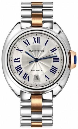 Cartier Cle De Cartier Silver Dial Men's Watch W2CL0002