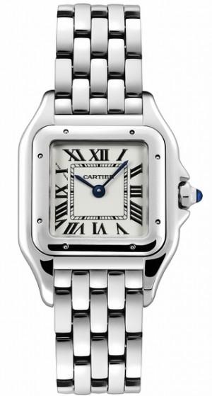 Cartier Panthere De Cartier Silver Dial Women's Luxury Watch WSPN0007
