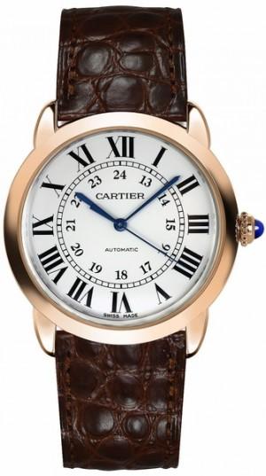 Cartier Ronde Solo Rose Gold Women's Watch W2RN0008