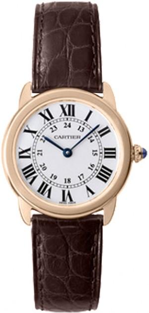 Cartier Ronde Solo 29mm Small Model Women's Luxury Watch W6701007