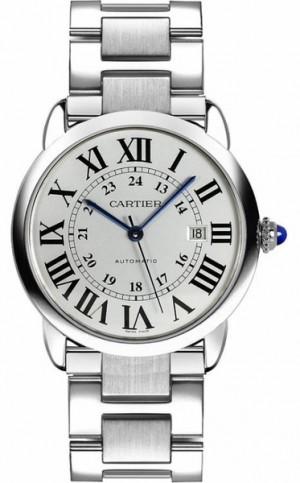 Cartier Ronde Solo 42mm Steel Men's Watch W6701011