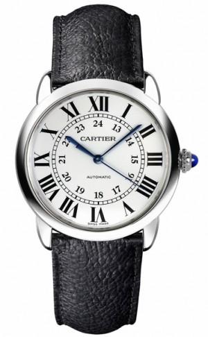 Cartier Ronde Solo 36mm Steel Luxury Watch WSRN0021