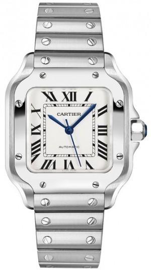 Cartier Santos De Cartier Medium Men's Watch WSSA0010