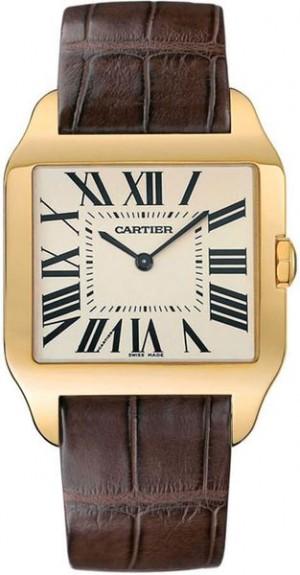 Cartier Santos Dumont 18k Yellow Gold Men's Watch W2008751