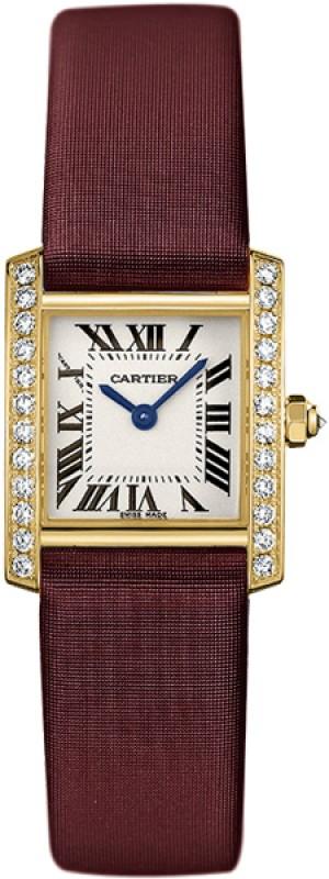Cartier Tank Francaise Gold Women's Watch WE100131