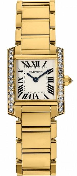 Cartier Tank Francaise Luxury Women's Watch WE1001R8