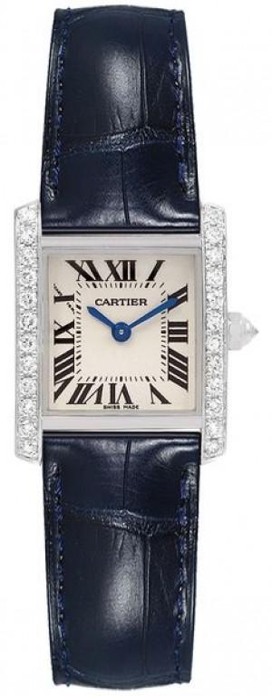 Cartier Tank Francaise Diamond Women's Watch WE100231