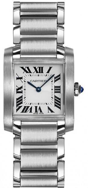 Cartier Tank Francaise Women's Luxury Watch WSTA0005